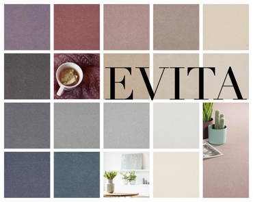 Evita -  Eye catching soft tone carpet range - also availble as custom made rug