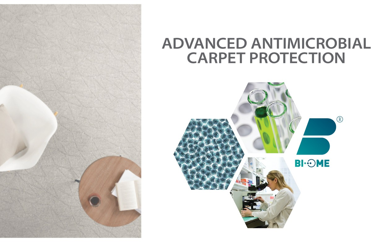 Advanced Antimicrobial Carpet Protection